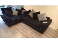 Dark blue Corner sofa