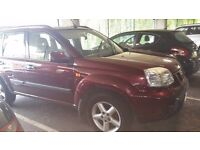 NISSAN XTRAIL JEEP ...7 seater? .. PART EX ?? YEAR MOT ON JEEP