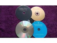 4 robbie Williams cds