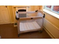 Graco Contour on the go fold away travel cot