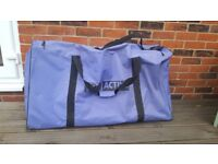Fitness instructor mats with bag