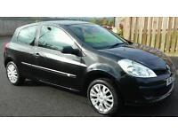 2007 RENAULT CLIO DIESEL, 1 YEARS MOT, CHEAP TAX, £1395
