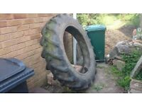 Tractor tyre for reuse - ideal for raised bed, planter, sand pit or playground