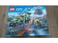 Lego city volcano exploration base 60124 BNIB