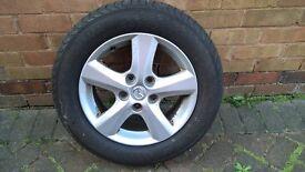 Alloy wheel for Mazda 3