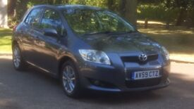 TOYOTA AURIS 1.6 TR 59 PLATE 2009 ONE OWNER FROM NEW 113000 MILES FULL SERVICE HISTORY