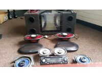 In Car Sound System - Boom Box, 6x9s, Door Speakers, Stereo, Wiring