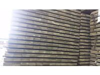 19mm x 100mm x 1800mm Green Treated fence slats for fencing. £1.04 per slat.