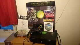 Xbox 1st model original + box + 5 games