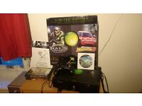 Xbox 1st model original + box + 5 games