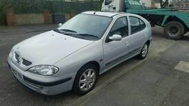 renault megane 1.6 12 months mot reduced