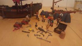 Playmobil Pirate Ship and Shipwreak
