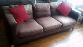 Spacious 3 seats sofa bed to sell