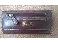 Harrods Purse - Size: width 20cm x height 10 cm