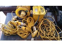 110 volt Transformer and leads