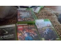 Xbox 360 bundle with 2 wireless controllers and kinect
