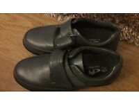 Mens grey casual shoes