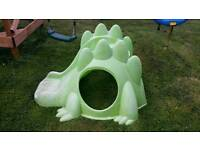 Baby toddler garden slide