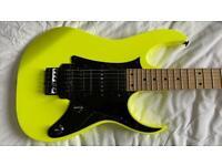 Electric Guitar: Ibanez RG550 MMX 20th Anniversary Guitar Desert Sun Yellow