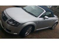 Audi TT 2004 Sports Convertible (Sliver)