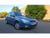2002 Ford Focus 1.8 Zetec 16v 5 Door Long MOT Low Mileage Clean Family Car Astra Mondeo Vectra