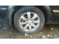 07 Vauxhall astra alloys and tyres 5x110
