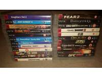 Dvds /box sets / blu rays / ps3 games
