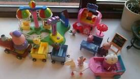 Peppa pig toys assorted