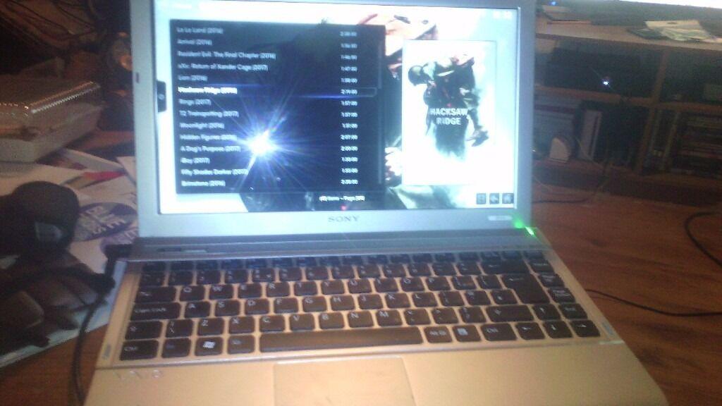 Laptop Sony Vaio 4g Ram Installed With Kodi Paradox Microsoft Office Watch All Latest