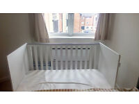 Baby/Child cot bed... Unused !! with mattress and waterproof cover sheet