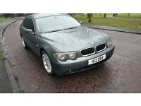 immaculate BMW 745i 4.4 petrol automatic,357bhp,fully loaded,cheapest online quick sale!!!