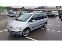 VW SHARAN 1,9TDI 7 SEAT FAMILI CAR VERY GOOD CONDITION
