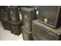 Peavey Bass and Tops