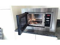 Bush 800w integrated microwave