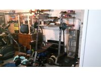Weights Bar Rack (For Squats, Flat & Incline Bench Press & Shoulder Press)