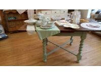 Barley Twist Leg Dining Table 60