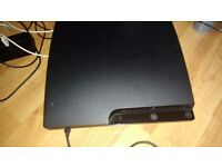 Ps3 slim almost new 149 gig with 14 games and 8 games on hd
