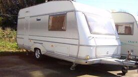 Cheap 2 Berth Touring Caravan End Washroom Motormover Extra wide LMC