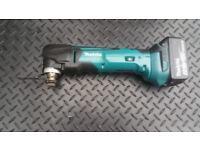 Makita DTM51 18V Quick Change Multi Tool USED