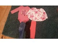 Girls Gap Clothes Bundle 6-12 Months