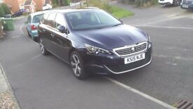 Peugeot 308 SW 2.0 BlueHDi Allure EAT6 5dr (start/stop)