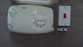 GALAXY Aqua 2000 Electric Shower 8,5kw (with 7m cable and Safety circuit breaker)