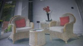 3 Piece garden furniture/patio set