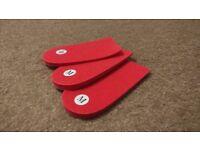 6mm heel lifts