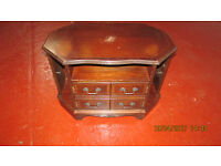 ANTIQUE VINTAGE CABINET TV STAND GOOD CONDITION FREE DELIVERY IN LIVERPOOL