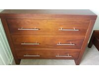 Baby/Toddler Cotbed-Wardrobe-Chest of Drawers 3 Piece Furniture Set