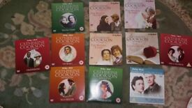 11 new Catherine cookson dvds. Hours of old fashioned entertainment