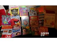 JOB LOT OF VINTAGE ANNUALS /BOOKS AND MORE PRICED FOR QUICK SALE -BARGAIN