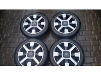 "Citroen Cactus ""Cross"" Original Equipment Alloy wheels, 17"" with Goodyear 205/50/17 Tyres - alloy"