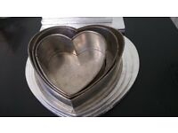 Selection of Cake Tins and Decorating/Presentation Accessories